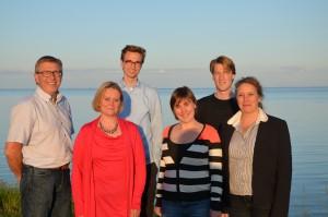 Het bestuur van de afdeling West-Friesland